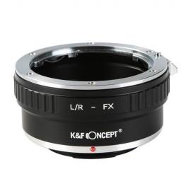 Anello adattatore obiettivi Leica R su Mirrorless Fujifilm Fuji X