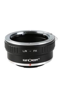 Anello adattatore K&F concept obiettivi Leica R su Mirrorless Fujifilm Fuji X
