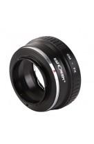Anello adattatore obiettivi Olympus OM su Mirrorless Fujifilm Fuji X