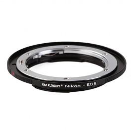 Anello adattatore obiettivi Nikon F AI su Canon EOS EF