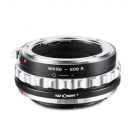 Anello adattatore obiettivi Nikon G su Canon EOS R