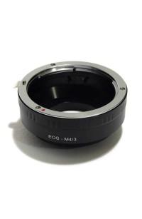Anello adattatore obiettivi Canon EOS EF su Micro 4:3