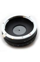 Anelllo adattatore obiettivi Canon EOS EOS EF su micro 4:3 con diaframma