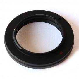 Anello adattatore obiettivi M39 su Micro 4:3