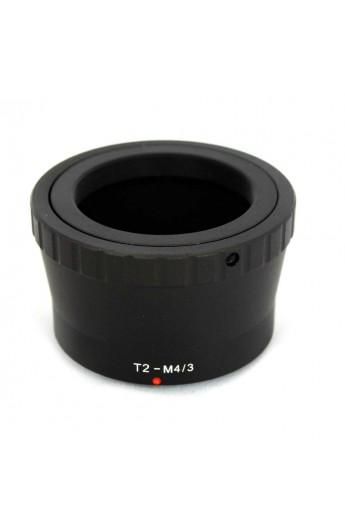 Anello adattatore obiettivi T2 su Micro 4:3