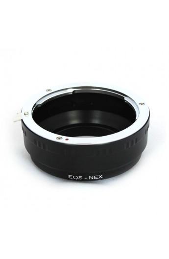 Anello adattatore obiettivi Canon EOS EF su Mirrorless Sony NEX