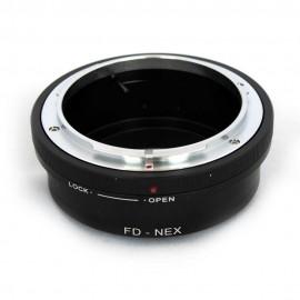 Anello adattatore obiettivi Canon FD su Mirrorless Sony NEX