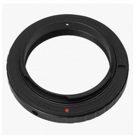 Anello adattatore obiettivi a vite T2 su Nikon