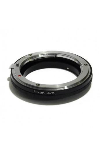 Anello adattatore obiettivi Nikon su Reflex Olympus 4:3