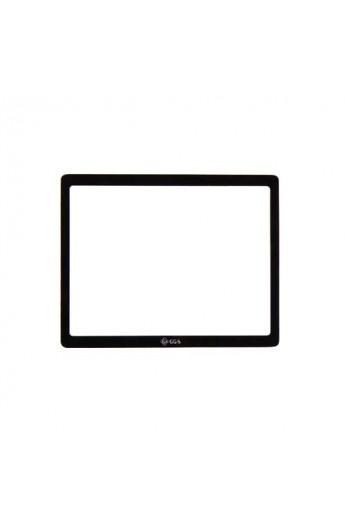 Protezione Schermo LCD in VETRO OTTICO x Canon EOS 450D 500D superiore Pellicola