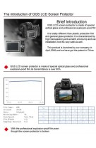 Protezione Schermo LCD in VETRO OTTICO x Canon EOS 1DX superiore Pellicola