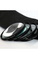 Kit Filtri Macro 58mm +1 +2 +4 +10 Diottrie TianYa HD per Reflex e Fotocamere Digitali