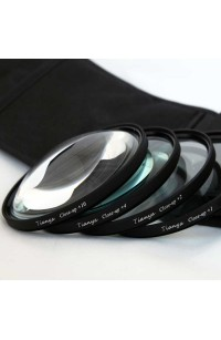 Kit Filtri Macro 52mm +1 +2 +4 +10 Diottrie TianYa HD per Reflex e Fotocamere Digitali