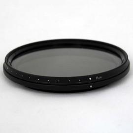 Filtro ND Densità Neutra Variabile VND 58mm 2-8 Stop TianYa HD per Digitali