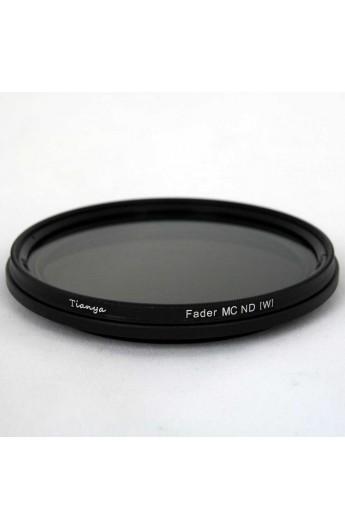 Filtro ND Densità Neutra Variabile VND 67mm 2-8 Stop TianYa HD per Digitali