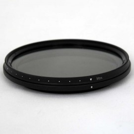 Filtro ND Densità Neutra Variabile VND 67mm 2-8 Stop TianYa HD per Digitali
