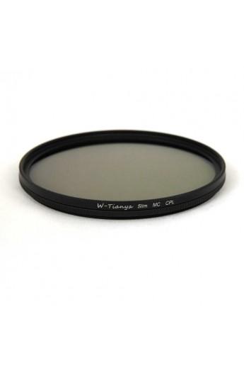 Filtro Polarizzatore Circolare 58mm TianYa HD Slim Super MC Antiriflesso Multistrato
