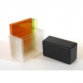 Custodia Rigida per Filtri a lastra Comp. Cokin P x 10 filtri