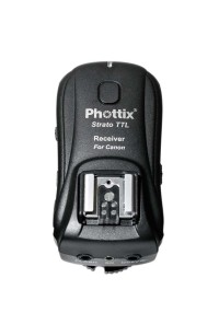 Flash Trigger Phottix STRATO TTL Wireless 100m RICEV. per Canon