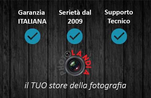 Photolandia garanzia Italiana dal 2009